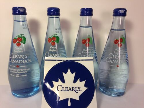 Clearly Canadian Country Raspberry 4-Pack Factory Sealed