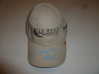 SIGNED EAGLE RIDGE GOLF CLUB STAFF HAT JERRY RICE 80 SF 49ERS NFL HOF AUTOGRAPH