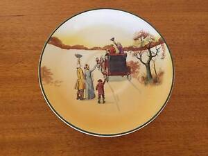 Orphan Saucer - Royal Doulton 'Coaching Days' Pullenvale Brisbane North West Preview