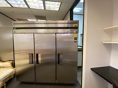 Everest 3- Solid Door Reach-in Refrigerator 75