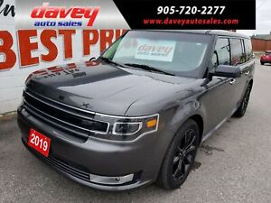 2019 Ford Flex Limited ALL WHEEL DRIVE, NAVIGATION, SUNROOF,...