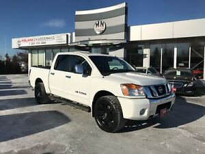 2009 Nissan Titan LE 4WD CREW LEATHER SUNROOF ONLY 198Km