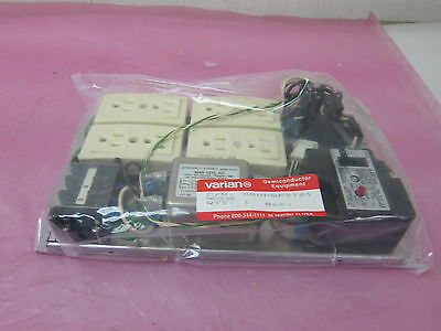 (VARIAN 000PQF2781 POWER DIST (MAIN) PANEL 4 OUTLET DISTRIBUTION 406775)