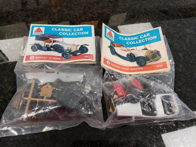 CITCO CLASSIC CAR COLLECTION KITS 2  BENTLEY  LE MANS  Packard sport phaeton New