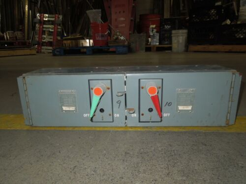Fpe Qmqb6636r 60/60a 3p 600v Twin Fusible Switch Unit Used