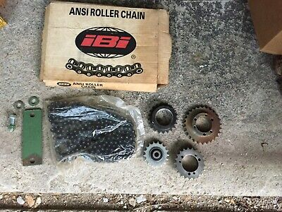 Lot of industrial sprockets ansi roller chain canada 40 27 usa iBi vintage