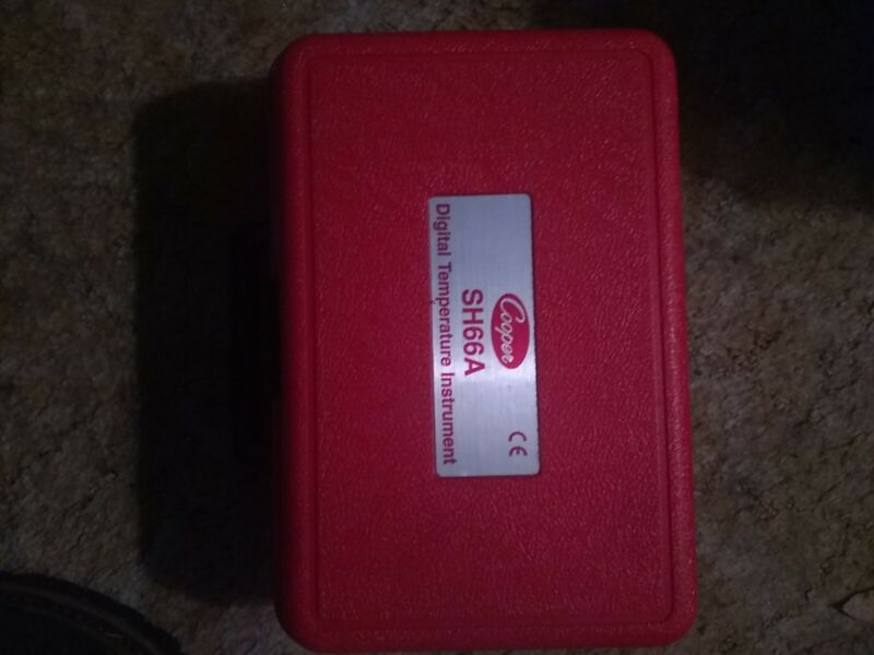 Cooper Instrument Corporation SH66A Temperature Instrument