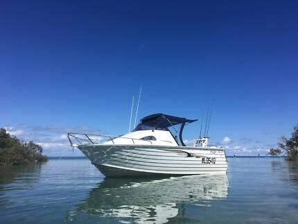 5.8 Seajay Venture Cab 2012 Etec 130hp