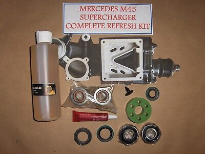 MERCEDES M 45 SUPERCHARGER COMPLETE REBUILD KIT  ALL NEW PARTS