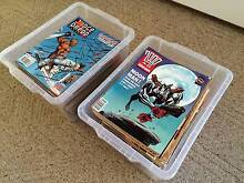 2000AD Comic Book Collection Featuring Judge Dredd McDowall Brisbane North West Preview