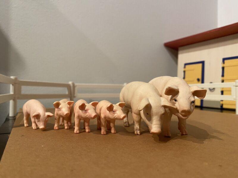 Schleich Pig Set Retired
