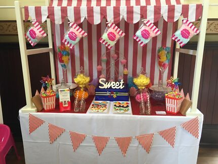 Hire kids tables,chairs,candy buffet, meal boxes, DIY let us style it!