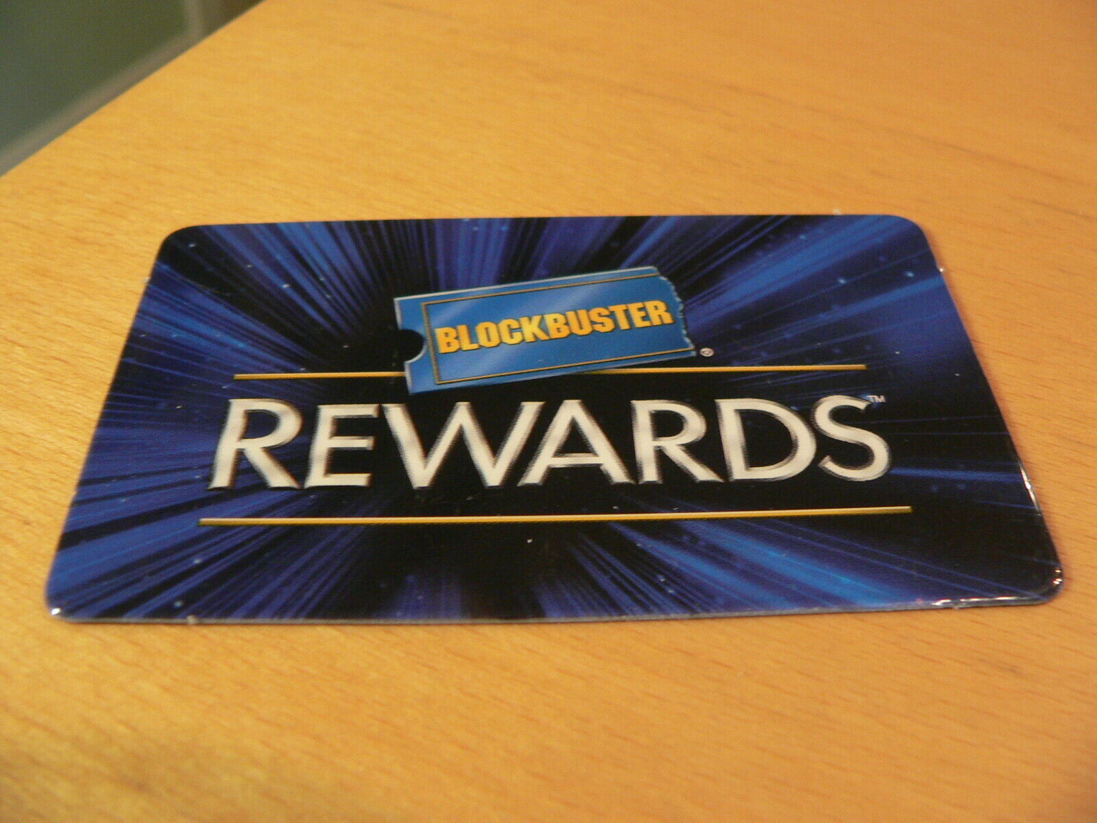 Vintage Blockbuster Rewards Video Membership Card Nostalgia Collectible 2001 - $9.95