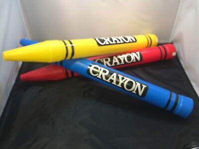 Yellow Crayon (Crayon Savings Bank Great Christmas Gift Choose Blue Red or)