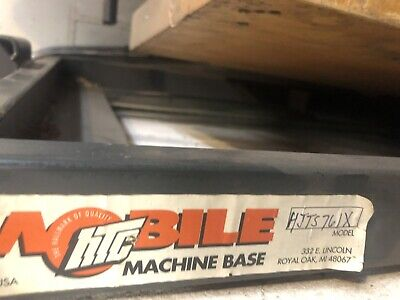 Mobile Base Htc Hjts-761-x Jet Contractors Table Saw W30 Fence Jwts-10pfx