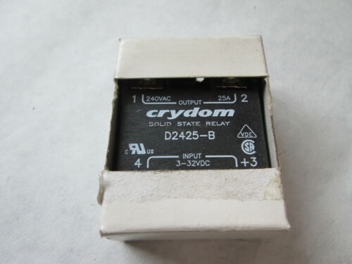 New Crydom D2425-B Solid State Relay (25 Amp)