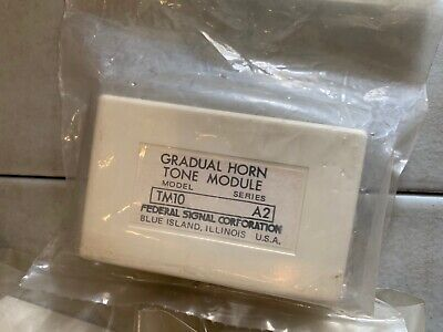 NEW OLD STOCK VINTAGE Federal Signal Center Lens Insert Kit Model JSCI-B