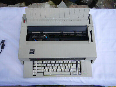 Ibm Wheelwriter 3 Electric Typewriter Keyboard Rebuilt Clean Lubricated Working