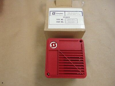 Simplex Fire Alarm Speaker 2902-9711 Part 445-026 - New Old Stock Never Used