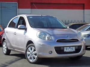 2010 Nissan Micra Ti Hatch *** LOW KMS *** $6,990 DRIVE AWAY *** Footscray Maribyrnong Area Preview