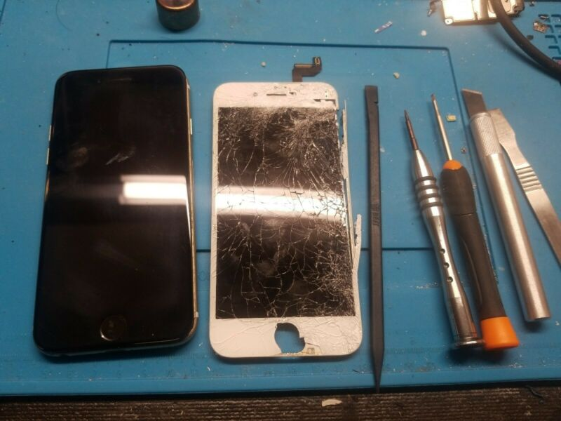 Apple Iphone 6 Cracked Screen Digitizer & Lcd Repair Replacement Service