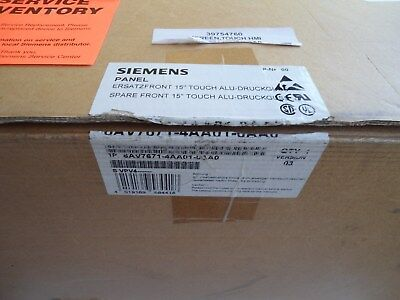 New Siemens 15 Touch Panel 6av7671-4aa01-0aa0