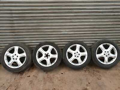 "MERCEDES ML GL R W164 X164 W251 19 "" ALLOY WHEELS AND TYRES FULL SET 255/50/R19"