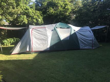 Tent 6.5m x 2.3m DMH Australia Mirage 4 & 5 room tent | Camping u0026 Hiking | Gumtree Australia Free Local ...