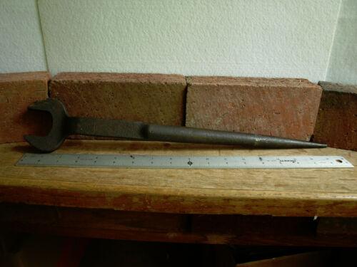 Bethlehem Steel BIS 7/8 HVY Off-Set Spud or Erection Wrench