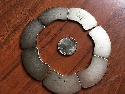 Lot Of 7 Large Neodymium Rare Earth Magnet Hard Drive Magnet