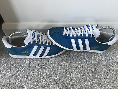 Adidas Gazelle OG Light Blue White Uk Size 8