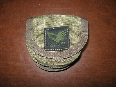 Eagle Industries dip can pouch molle khaki smokeless tobacco carrier holder - Pouches Dip