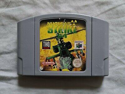 NUCLEAR STRIKE Nintendo 64 N64 Game PAL VERSION