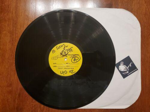 SUBLIME TEST PRESS LP 40oz To Freedom VINYL 12 PICTURE DISC BRADLEY NOWELL  - $199.99