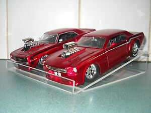 Display Stand for 1:24 Scale Diecast/Model Cars (Wedge style)