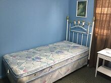 Beautiful single bed in excellent condition plus bedside table Macquarie Fields Campbelltown Area Preview