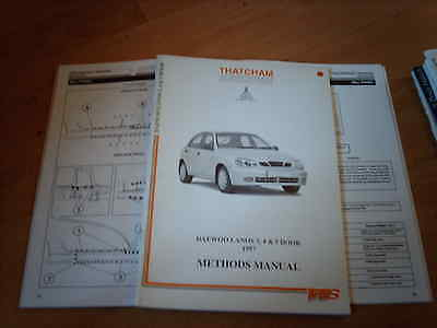 Body Repair Manual Daewoo Lanos 3 4 5 door 1997