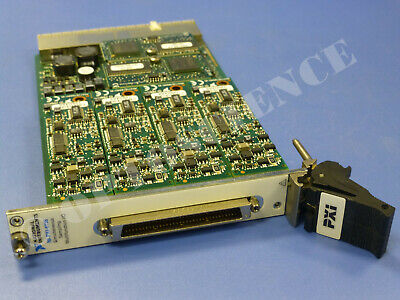 National Instruments Pxi-6115 Ni Daq Card With Extended Memory Option