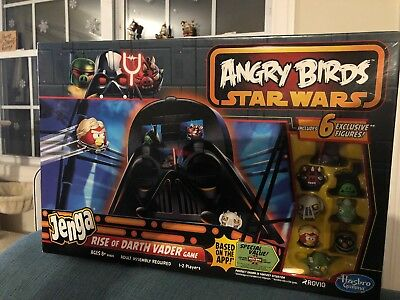 Star Wars Angry Bird Jenga - Ride Of Darth Vader segunda mano  Embacar hacia Mexico