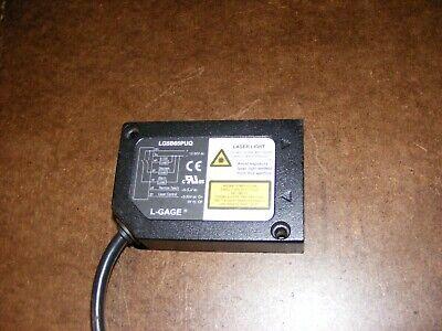 Banner Laser Displacement Sensor Lg5b65puq