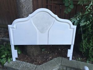 french antique queen sized headboard