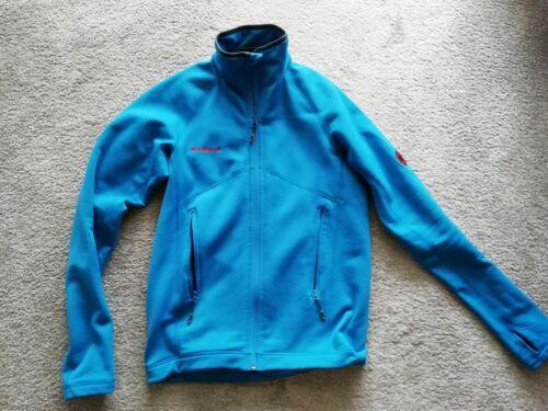 Mammut Jacke Softshell, Innen Fleece, Gr. M, blau, sehr Gut