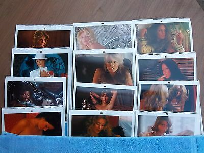Vintage 1977 PLAYBOY Pin-up Photo Calender 40 Years Ago