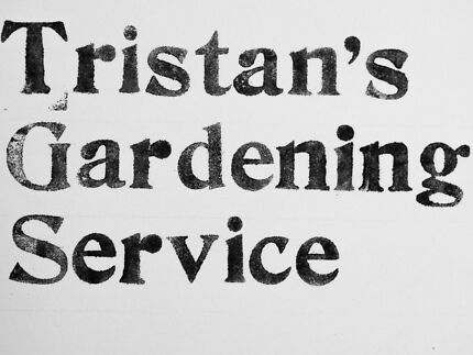 Tristan's Gardening Service Fremantle Fremantle Area Preview