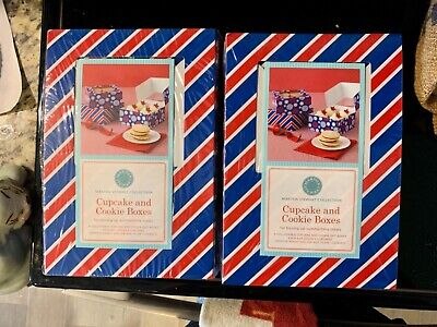 Martha Stewart Collection: Cupcake and Cookie Boxes x 2 Martha Stewart Cupcake Box