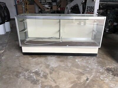 Retail Light Up Glass Showcase 7018x38 Display Case Pick Up Only