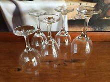 Assorted wine glasses Russell Lea Canada Bay Area Preview
