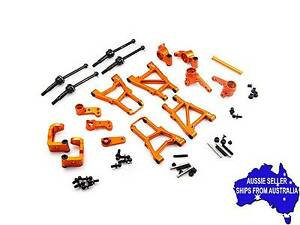 Yeah Orange aluminium essential conversion kit for HPI Sprint 2 1:10 RC car.