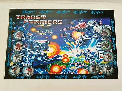 transformers Vintage Super rare Brazilian coca cola caps with poster early 90s