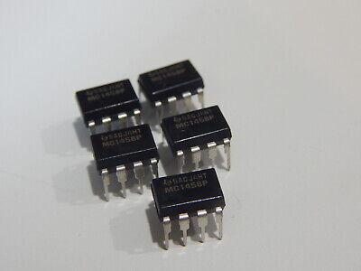 Ti Mc1458p Dual Op Amp 7500uv Ofset-max 1mhz 8 Pin Dip - Lot Of 5 Ics Fast Ship